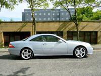 2003 53 MERCEDES-BENZ CL 5.5 CL600 2dr WITH FSH+500 BHP BI-TURBO+MEGA SPEC++