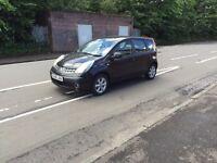£ 1475 2007 Nissan Note SE 1.4l* like megane scenic meriva note jazz focus corsa punto astra golf
