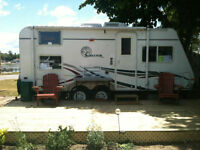Rent a TRAVEL TRAILER Camper for campgrounds