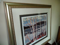 "TOM THOMSON Print titled ""Spring in Algonquin Park"""