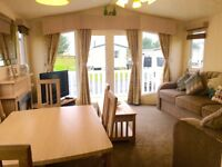 AMAZING CARAVAN FOR SALE ON BEAUTIFUL BEACH FRONT FAMILY HOLIDAY PARK