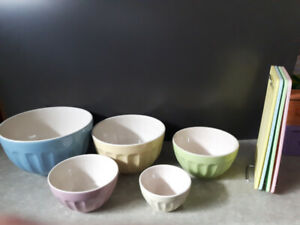Dish Set and Cutting Boards