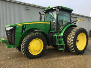 John Deere 8235R Tractor - Autosteer Activation
