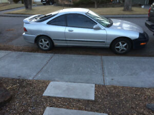 1999 Acura Integra Silver Coupe (2 door)