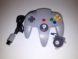 Nintendo 64 (N64) Controllers With New Thumbstick