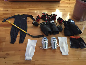 Equipement complet de hockey