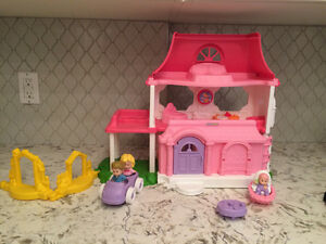 Doll House-Fisher Price Happy Sounds Home