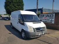 Ford Transit 2.4TDCi Duratorq ( 140PS ) 350L.75MY LWB full MOT