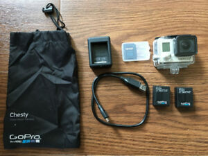 GoPro Hero 3+ digital camera/ camcorder and accessories