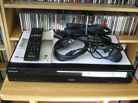 Sony Freeview / DVD Player / Recorder 250GB Hard Drive HDMI Immaculate Condition Bargain £100