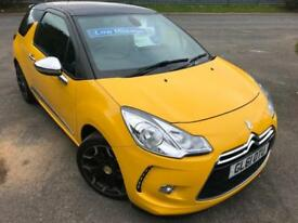 CITROEN DS3 1.6 THP 155 BHP DSPORT PLUS £35 WK NO DEPOSIT LEATHER 3DR HATCH 2012