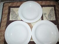 """3 """"Thomas"""" brand Rimmed Soup Bowls - Made in Germany"""