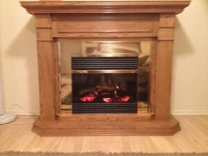 DELUXE ELECTRIC FIREPLACE $$