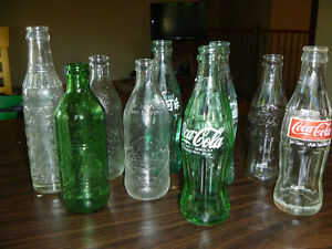 OLD POP BOTTLES
