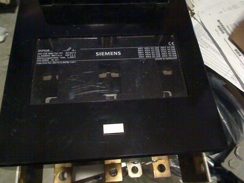 Siemens Fuse Holder 3NP536  new no box