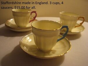 Reduced...Staffordshire China