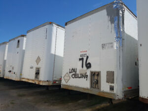 48' DRY STORAGE TRAILERS FOR SALE!!!