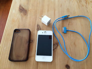 iPhone 4S 16GB with charger
