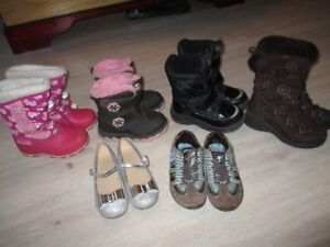 Girls Size 10-11 Boots & Shoes