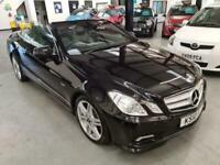 Mercedes E350 3.0 CDI BLUEEFFICIENCY SPORT-CONVERTIBLE-BLACK-2 KEYS-DRIVES