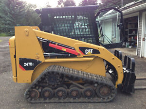 SKID STEER 247 B3   2012 TRACKS 1800  HRS AIR QUICK ATTACH