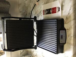 Indoor digital grill