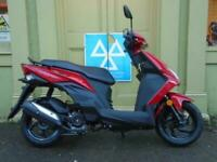 Sym Mask 50 Scooter With 3 Year Warranty 01634 811757.
