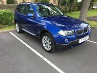 2006 (56) BMW X3 2.0d SE: 81000: FULL HISTORY: LEATHER: XENONS:
