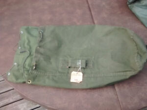 Canadian Army duffle bag, Cold War vintage