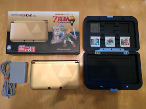 Nintendo 3DS XL Zelda Edition