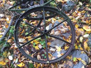 "30"" Cast Iron Wheel"
