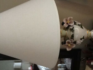 Two Porceline table lamps