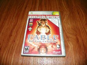 XBOX FABLE THE LOST CHAPTERS