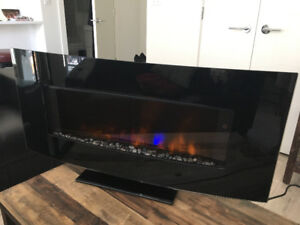 Electric fireplace (wall mount or free standing)
