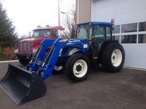Tracteur Agricole, Tracteur A Neige, New Holland T4040 2009