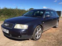 2002 Audi A6 Quattro Avant 2.5 V6 FULL MOT 139K Miles FSH