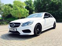 2013 13 reg Mercedes-Benz E250 CDI AMG Sport + E63 AMG BODYKIT WHITE