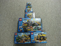 Lego City Mine -- main set and all additions
