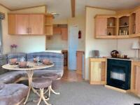 OUTSTANDING STATIC CARAVAN FOR SALE ON DURHAMS HERITAGE COAST LINE