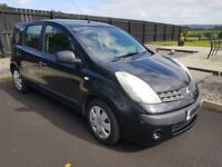 2006 VGC Nissan Note S 1.4 Petrol FSH 88k (Not Jazz, Civic, Focus, Astra Or Golf)