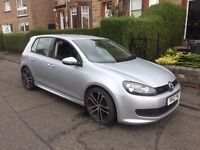 Volkswagen Golf 1.6tdi bluemotion 12plate only 52000 fsh 1 year mot