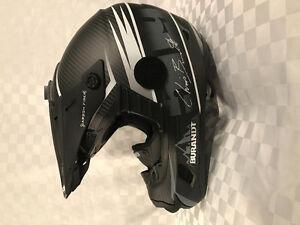 509  C2 Carbon fibre Snowmobile Helmet