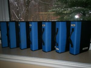 Cartable CD / DVD / BLUE-RAY Storage Binders.