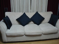 Cream colour sofa