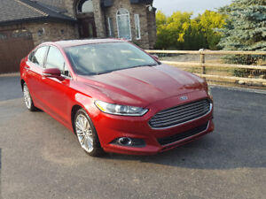 2013 Ford Fusion SE 2.0L EcoBoost,Leather,Navigation,Sunroof,