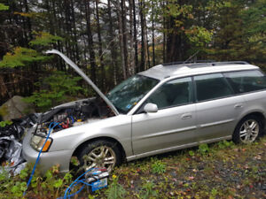 2004 Subaru legacy for parts or repair