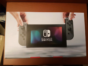 Nintendo switch console brand new neuf invoice facture