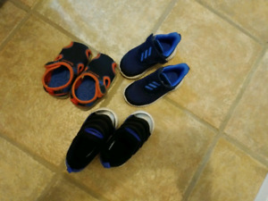 Baby boy shoes size 6.5 , 7 , 8