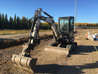 Bobcat E35 for Rent or Hire