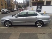 Jaguar X Type Diesel 2.0 Full Leather Sat nav Dvd Excellent Runner